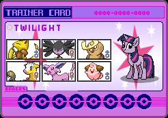 Twilight Sparkle Trainer card
