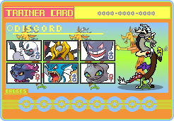 Discord Trainer Card by SeaAndSunshine