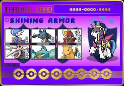 Shining Armor Trainer Card