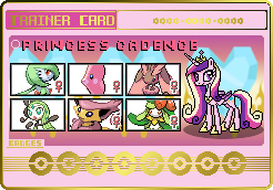 Princess Cadence Trainer Card by SeaAndSunshine