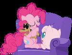 Pinkie loves her pokemon