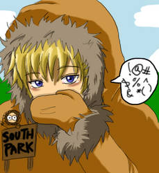 Kenny from South Park by sirohikari