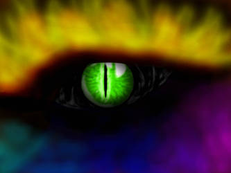 Dragon's eye by CrazyLittleBlakcWolf