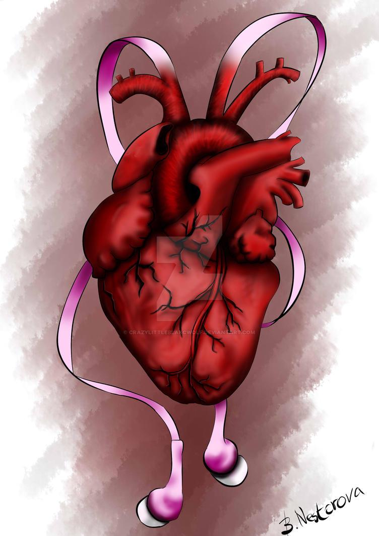 Listen to your heart by CrazyLittleBlakcWolf