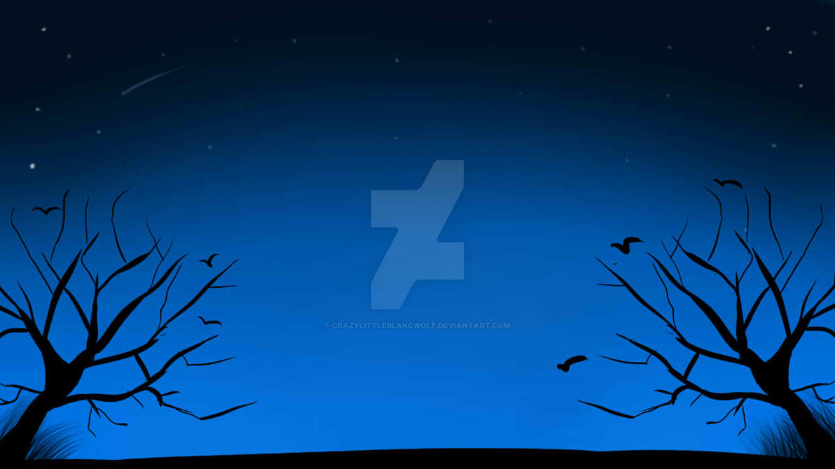 Night reflection by CrazyLittleBlakcWolf