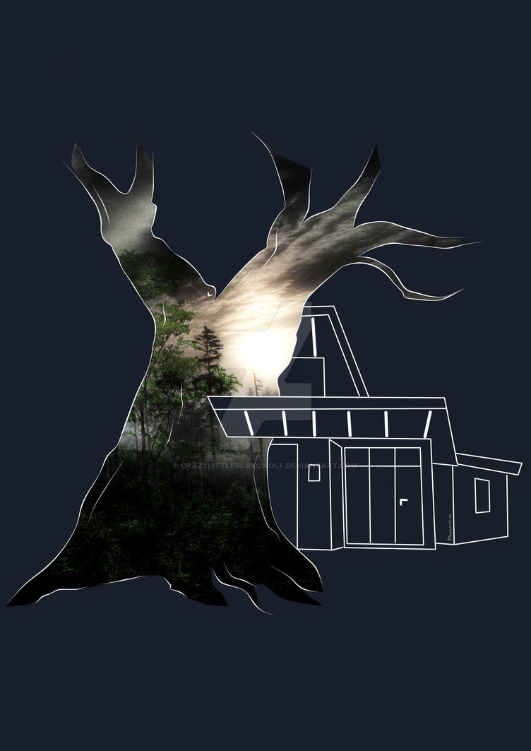 Nature House by CrazyLittleBlakcWolf