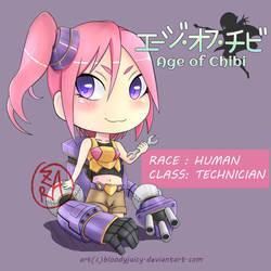 Female Tech by bloodyjuicy