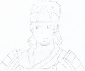 SAO Klein Pencil Drawing by DrNeon-Aidan