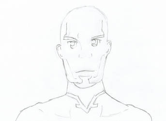 SAO Agil Pencil Drawing by DrNeon-Aidan
