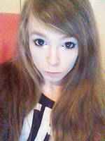Hair getting quite long now ^^