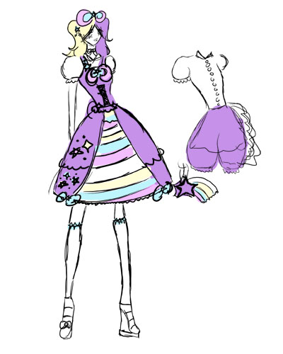 KoteKote Lolita design by poisonous-van1ty