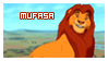 Mufasa Stamp by StampAG