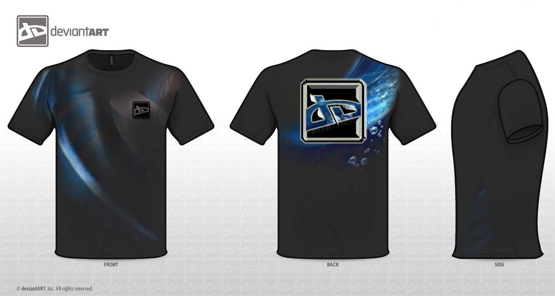 Deviant Tshirt logo designblack by RedeyeTrickmaster