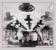 Indian train by SLavaShi