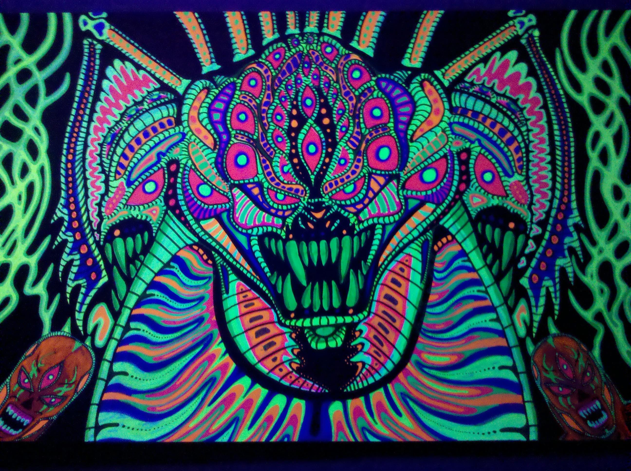 Psychedelic Art Wallpa...