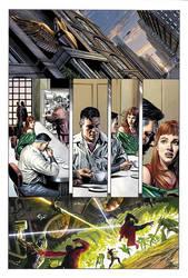 JSA Kingdom Come Superman by sinccolor