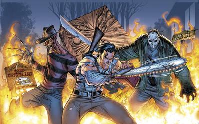 Freddy v Ash v Jason cover by sinccolor
