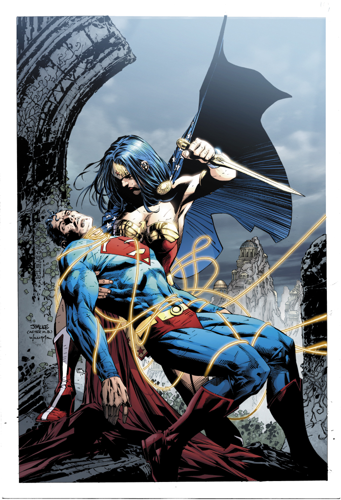 Supes v. WW by sinccolor on DeviantArt
