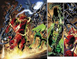Blackest Night 3 pgs 2-3