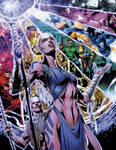 Blackest Night 3 pgs 16-17