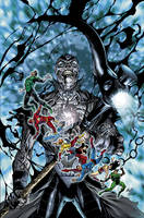 Blackest Night 5 Cover by sinccolor