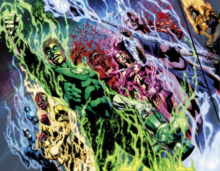 Blackest Night No.5 pgs. 2-3