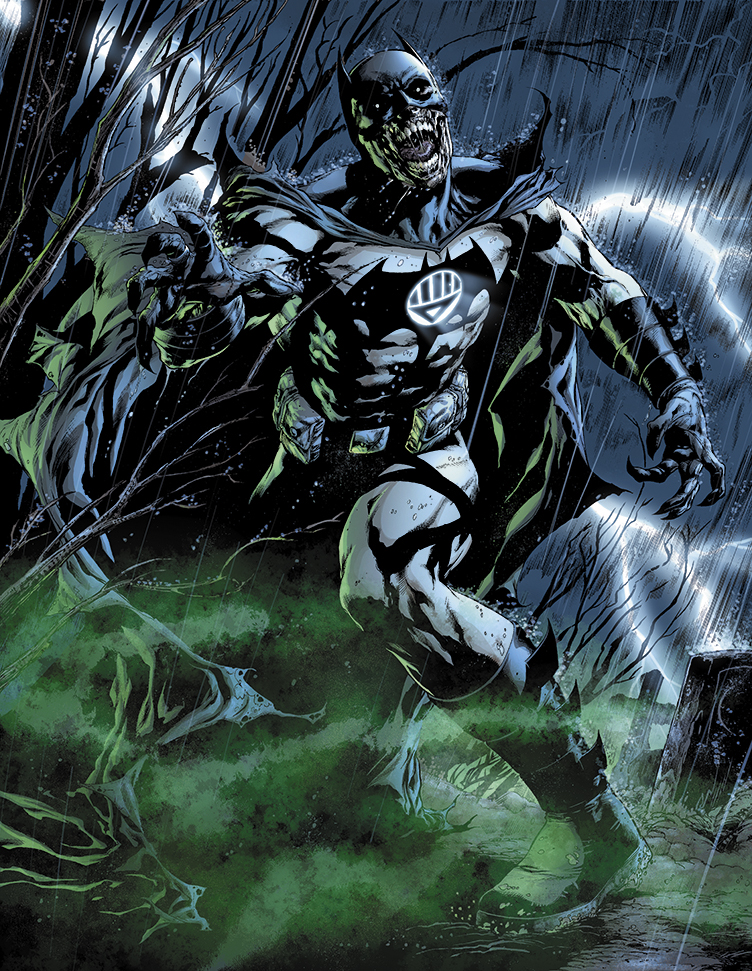 Black Lantern Batman by sinccolor
