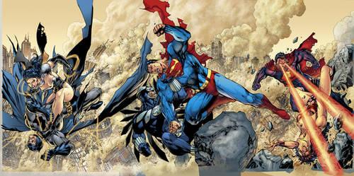 Comics-Colorist-Club Trinity by sinccolor