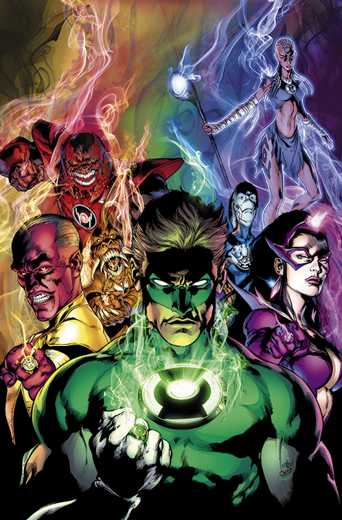 Blackest Night 6 Cover by sinccolor