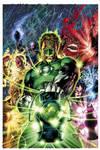Green Lantern 50 variant cover