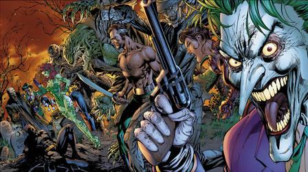 Bat-Villains by sinccolor