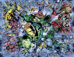 Blackest Night No.7 pg. 10-11