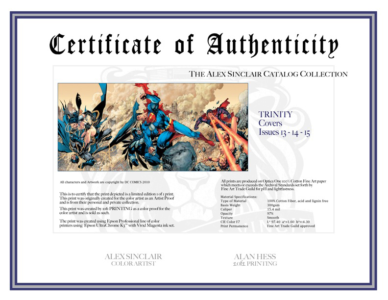 Certificate of authenticity by sinccolor on deviantart for Artist certificate of authenticity template