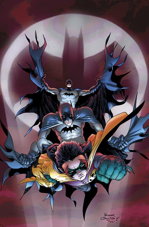 BatMEN and Robin by sinccolor