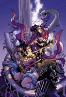 PURPLE Wonder Woman by sinccolor