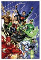 nu52 Justice League