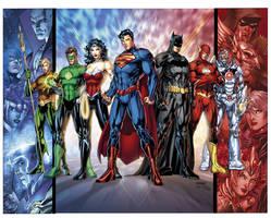 Baggin' the Justice League by sinccolor