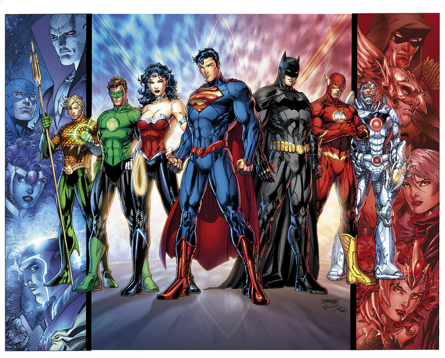 Baggin' the Justice League by sinccolor