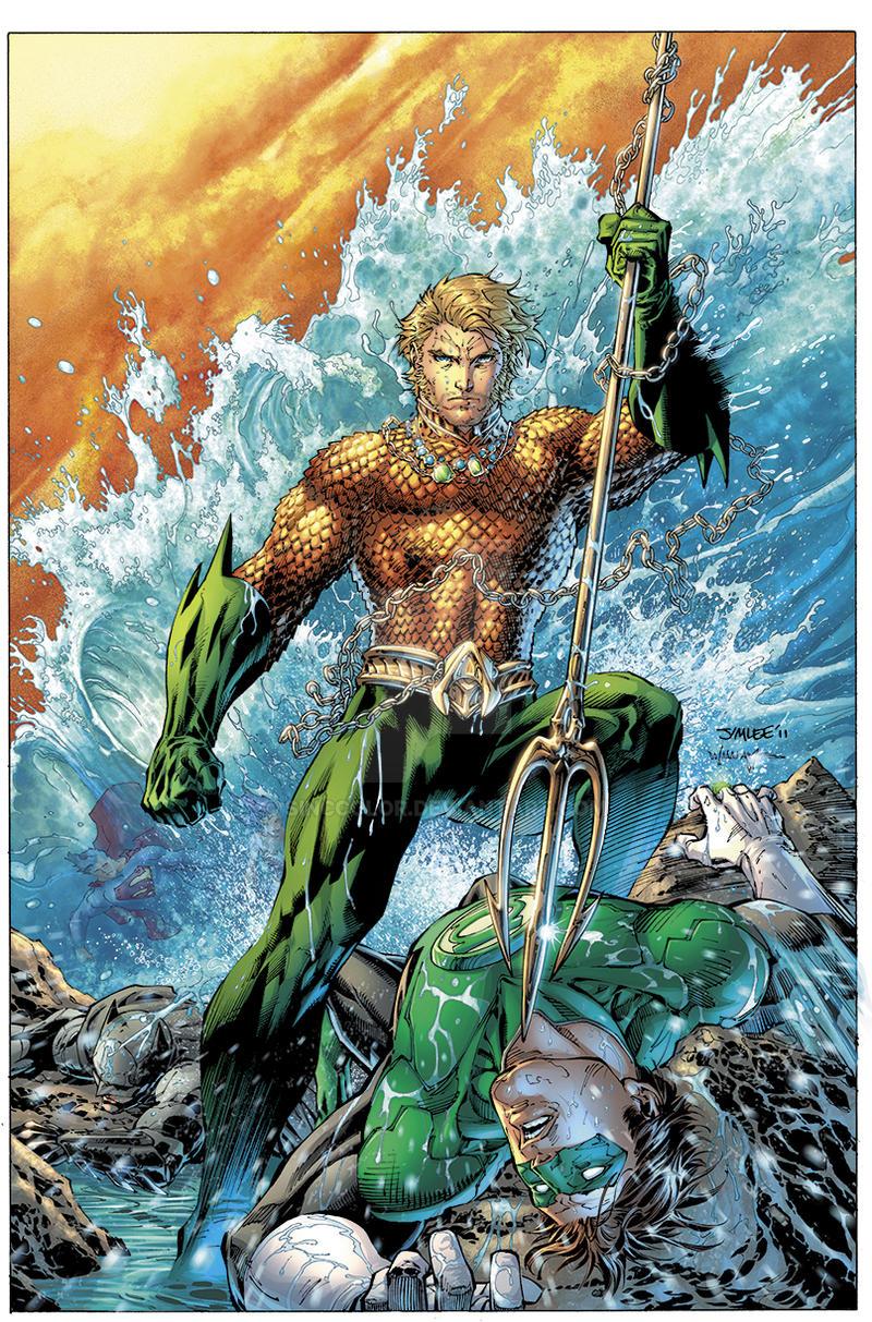 Justice League 4 Cover by sinccolor