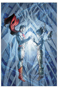 Superman Unchained #5 Combo Edition Cover