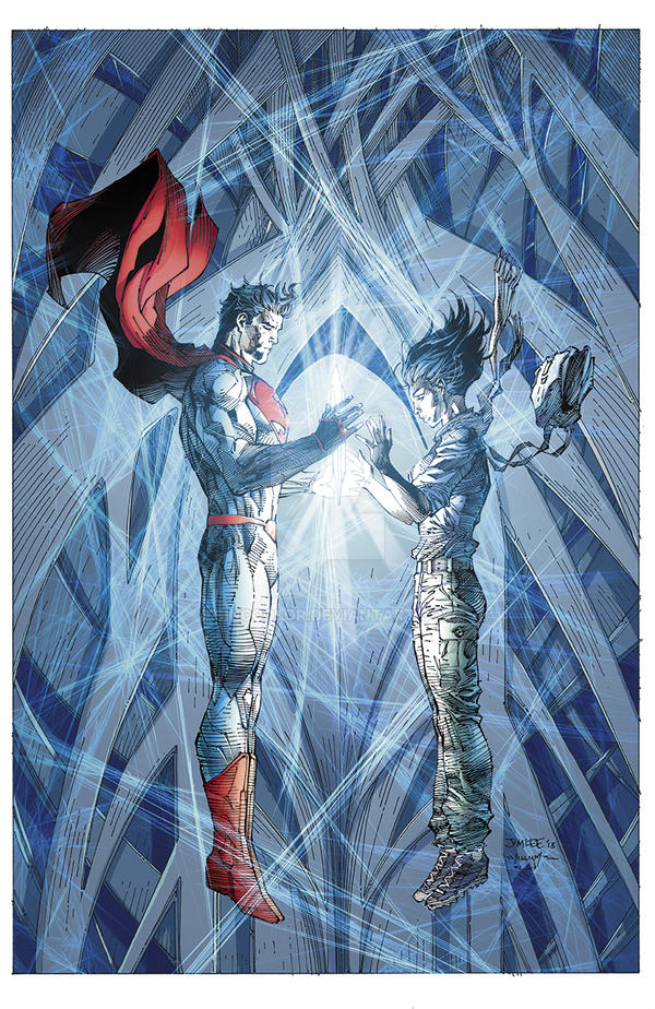 Superman Unchained #5 Combo Edition Cover by sinccolor
