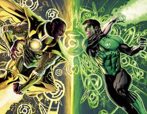 Green Lantern #20, pgs 42-43
