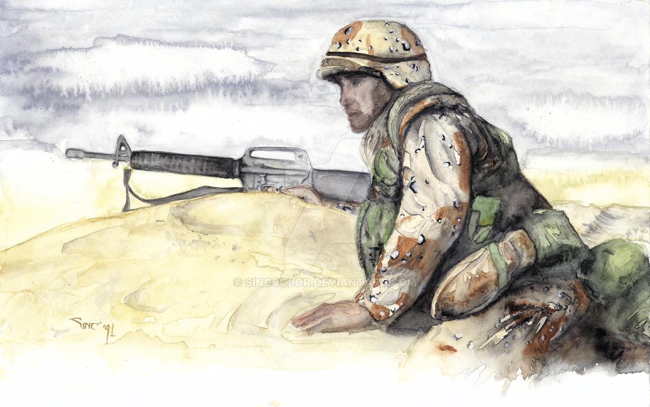 Veteran's Day Salute by sinccolor