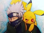 Kakashi and Pikachu