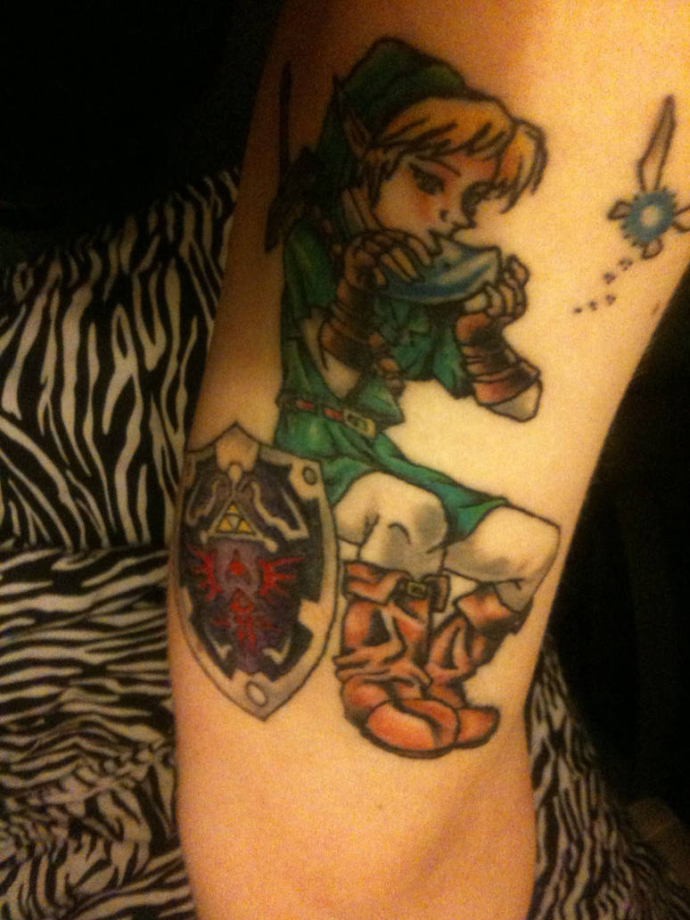My Link --Legend of Zelda-- tattoo by plastic-anime on DeviantArt