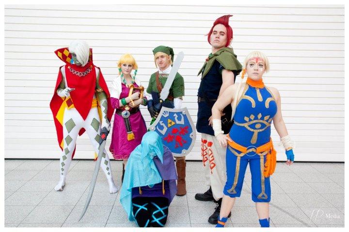 Skyward Sword Group by plastic-anime