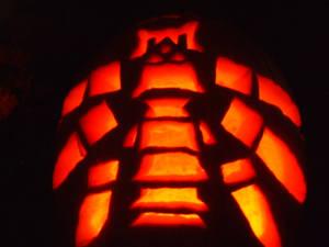 War Machine Pumpkin