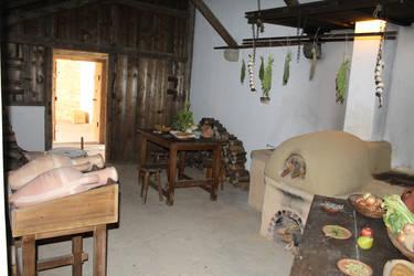 The kitchen of the Roman era by Dreikun