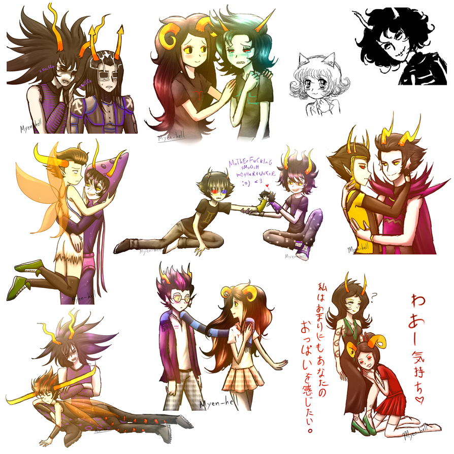 Homestuck_Doodles_11 by Myen-Nyan