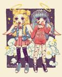 Pastel angels